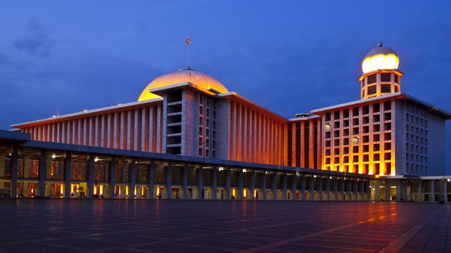 Tempat wisata di Jakarta: Masjid Istiqlal. Sumber: Liputan 6