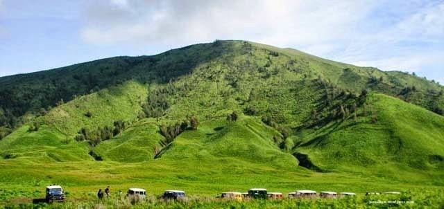 Wisata Bromo: Bukit Teletubbies. Sumber: Pusat Wisata Bromo